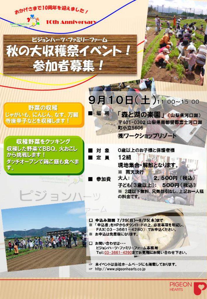 2016 PHFF秋チラシ